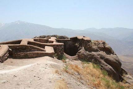 Ostaci Alamuta u Iranu