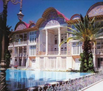 Bašta Eram, Širaz, Iran