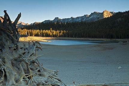 Mamutova jezera, Kalifornija.