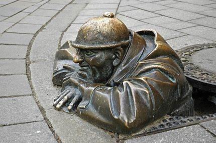 Skulptura Viktora Hulika