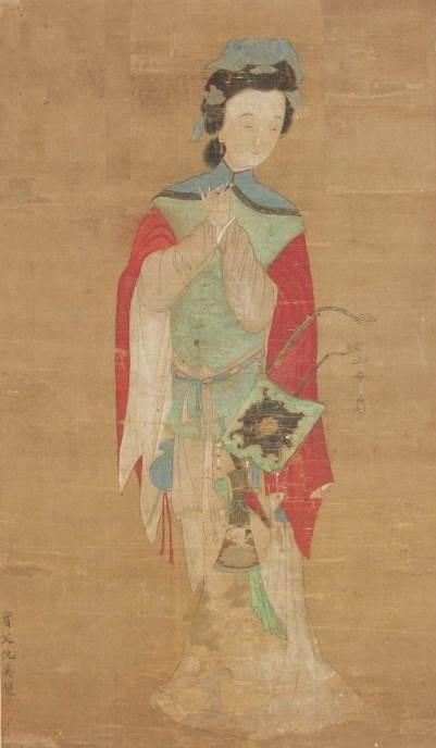 Mulan, mastilo na svili, 18. vek, Londonski muzej