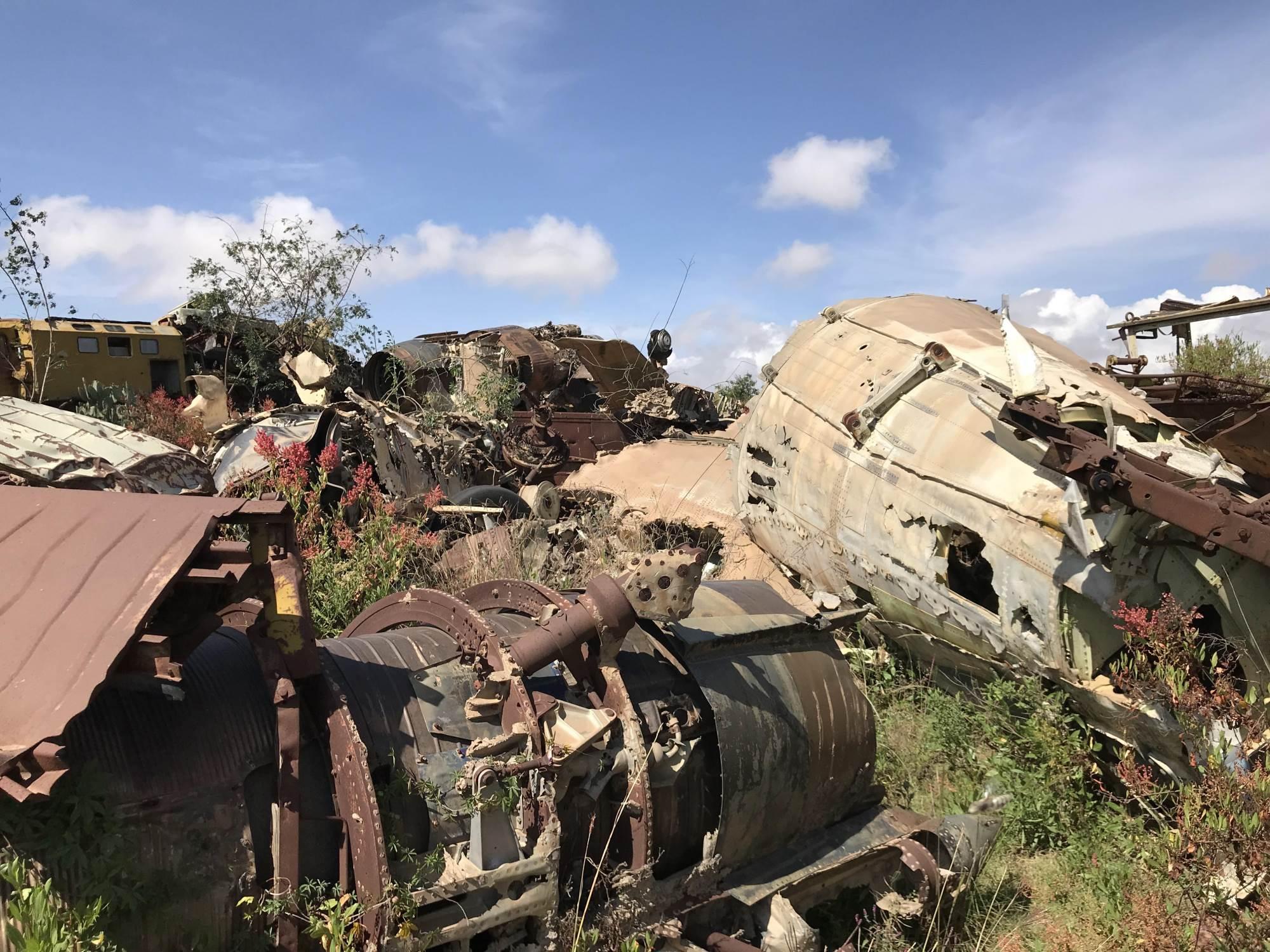 Groblje tenkova, Asmara