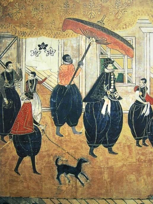 Nanbanska grupa. Iako ne postoji prikaz Jasukea iz vremena u kom je živeo, postoji mnogo kasnijih interpretacija ovog samuraja.