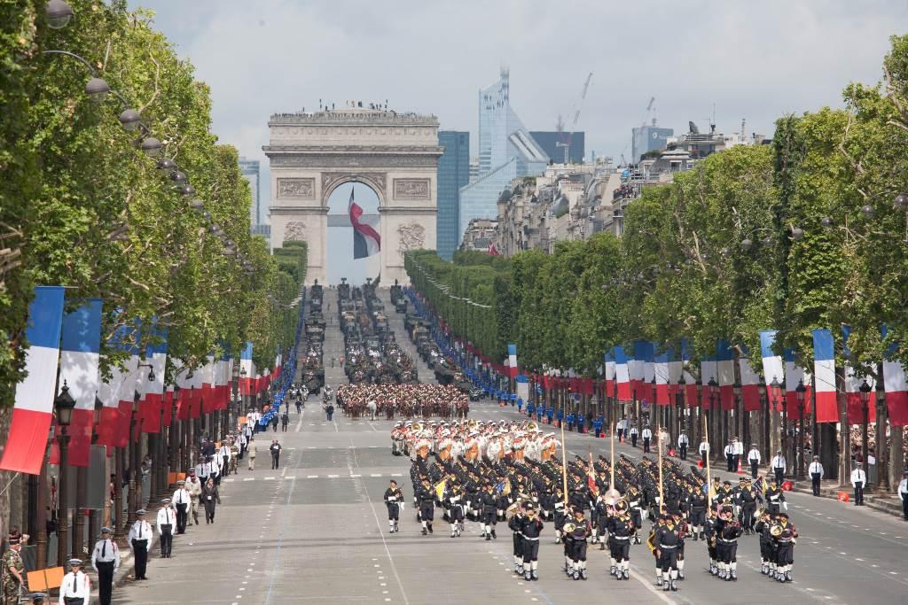 Proslava Dana Bastilje 2012. godine, Pariz