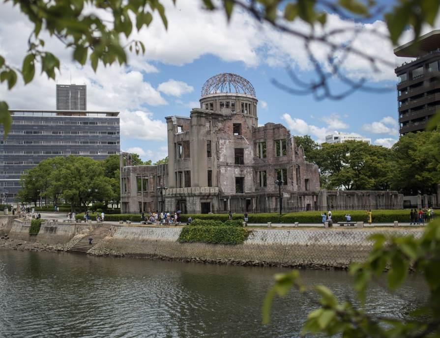 Promotivna dvorana Prefekture Hirošima snimljena 2019. godine