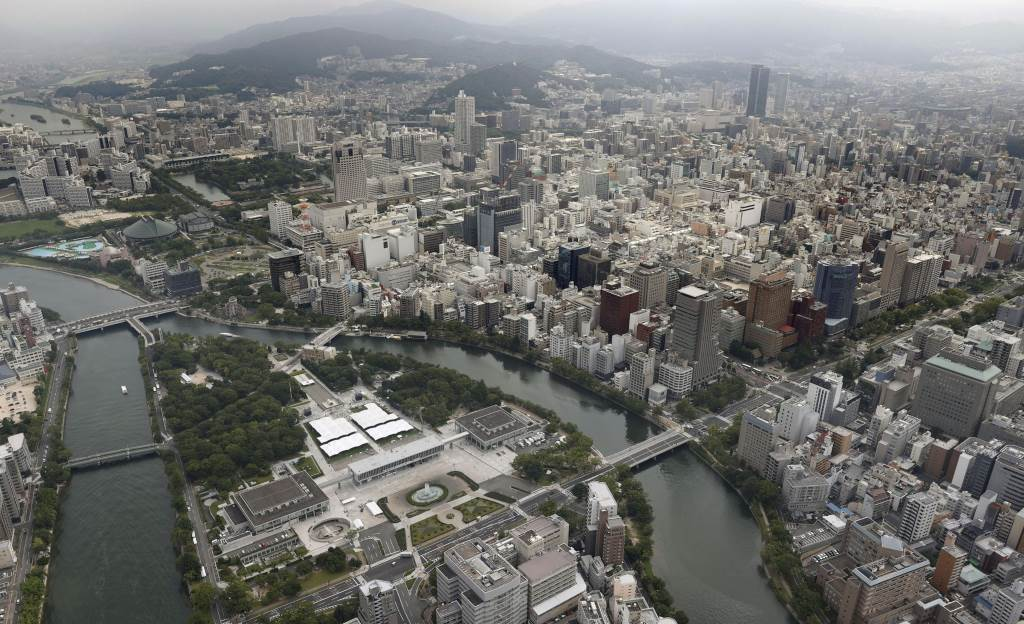 Hirošima, snimak iz vazduha, 2020. godina