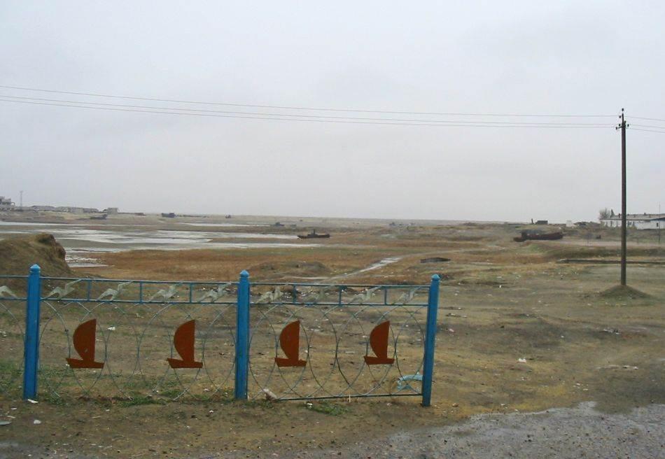 Nekadašnja luka na Aralskom moru
