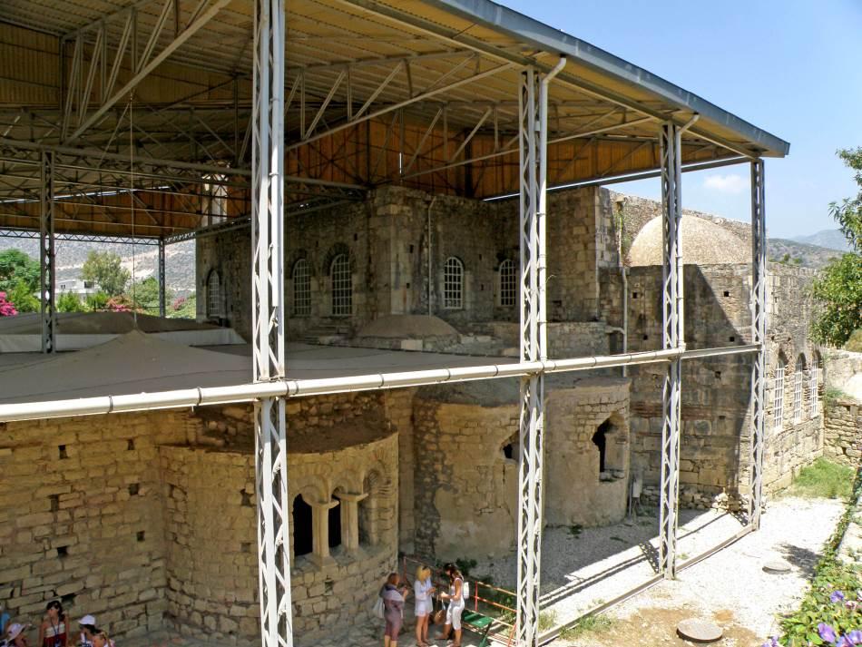 Ostaci crkve Svetog Nikole iz VI veka naše ere