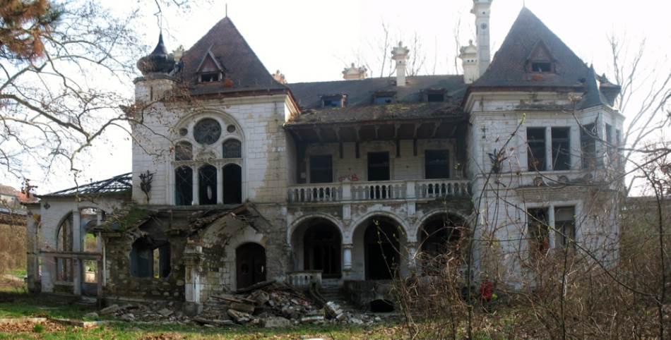 Severna fasada Šoicerovog dvorca