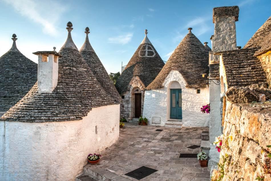 Truli kućice su izgrađene u 19. veku.