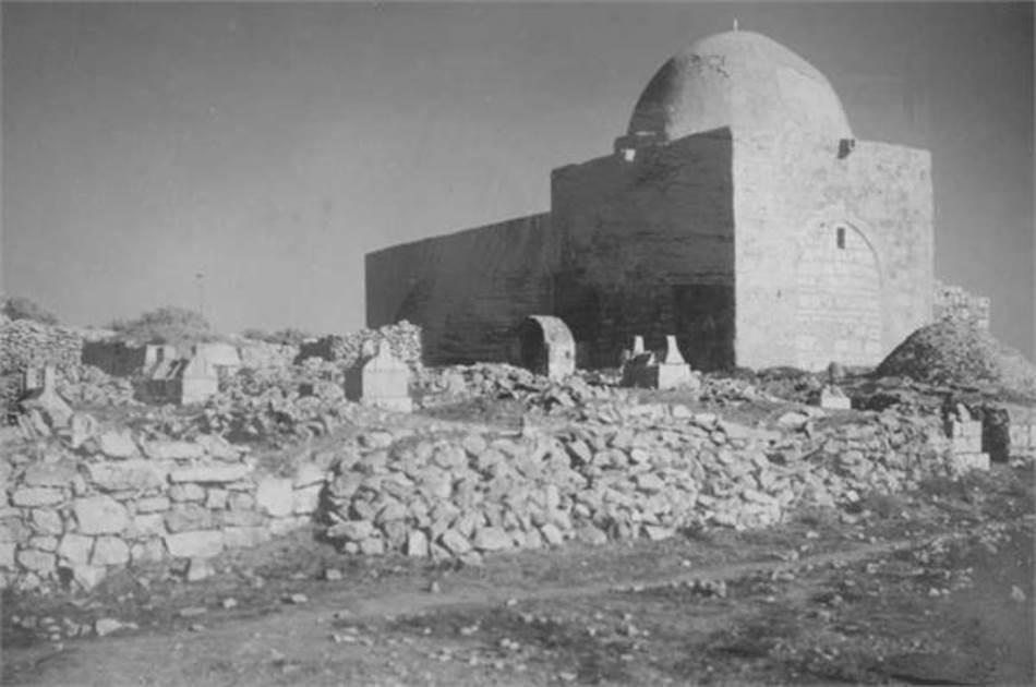Rahelina grobnica snimljena 1926. godine
