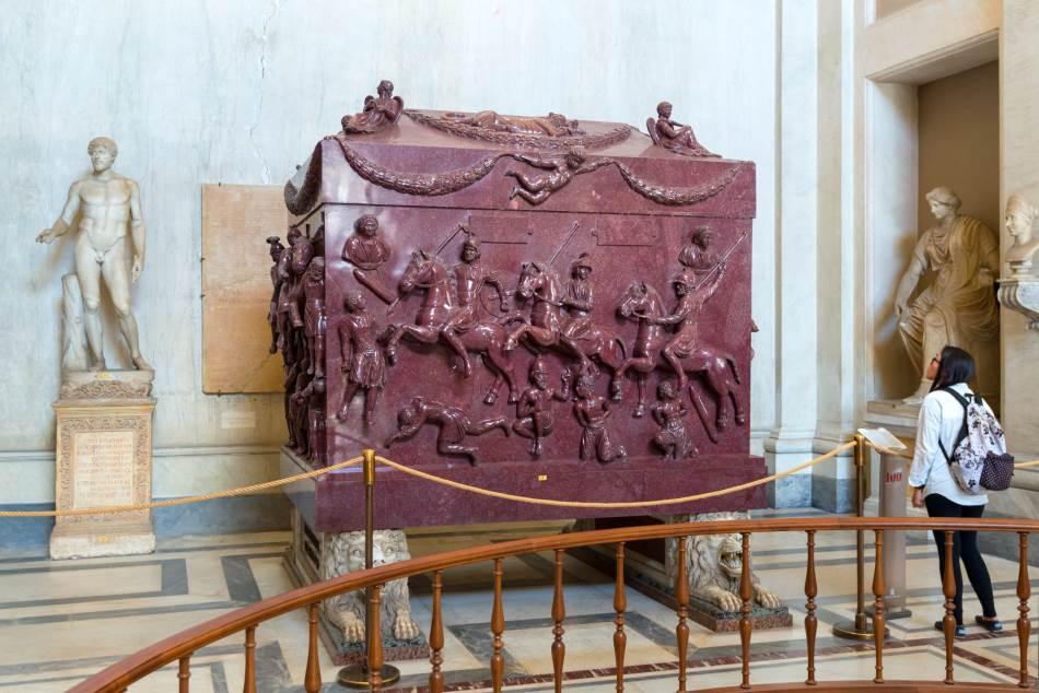 Porfirni sarkofag Jelene Carigradske