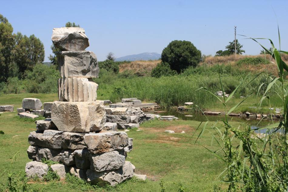 Nalazište na nekadašnjem mestu Artemisiona
