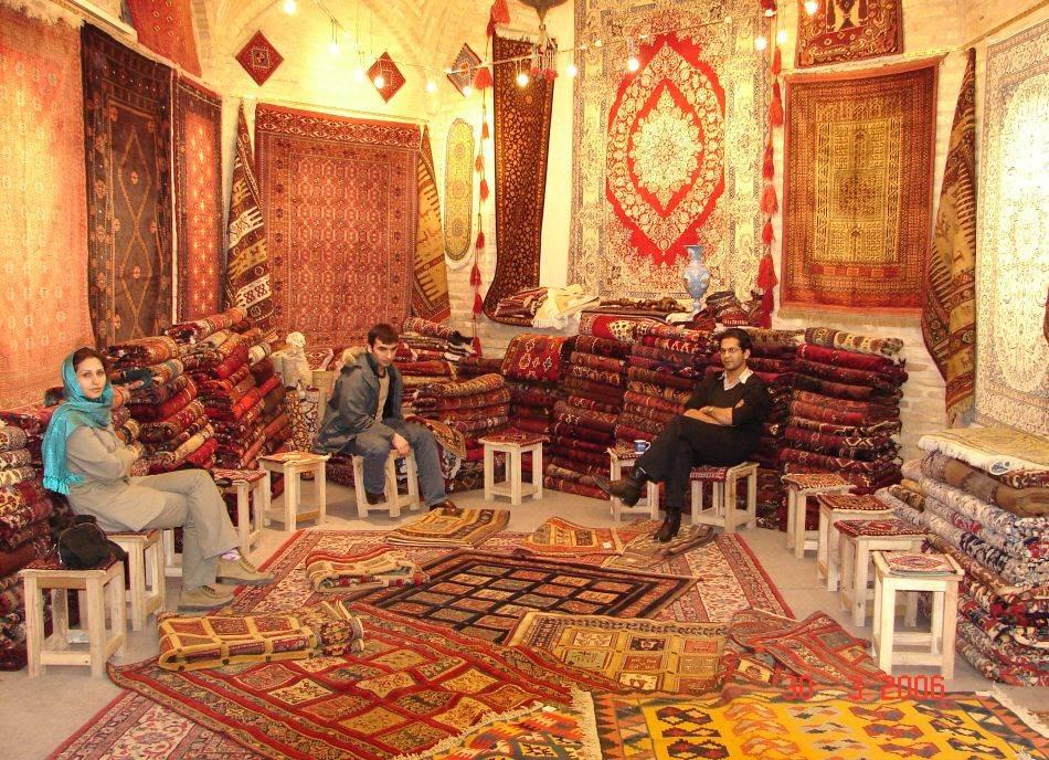 Prodavnica tepiha na bazaru