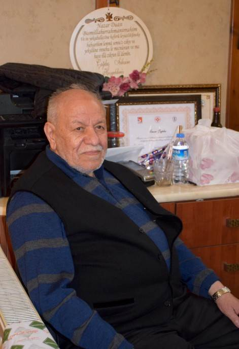 Gospodin Talat Čagdaš, sin osnivača radnje.