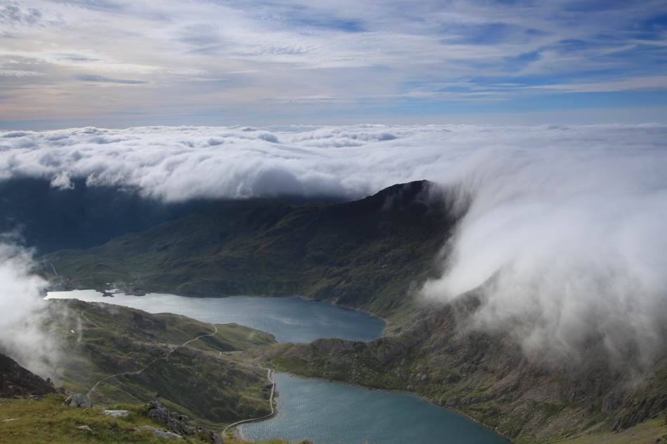 Planina Snoudon na koji je, na 1.085 metara, trenirao ser Edmund Hilari.