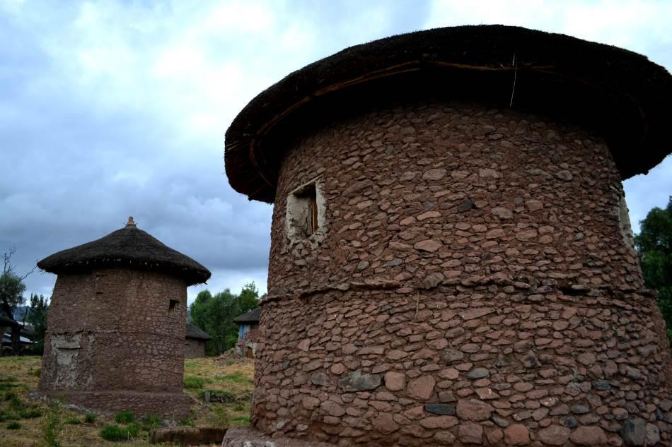 Tradicionalne kuće u Lalibeli