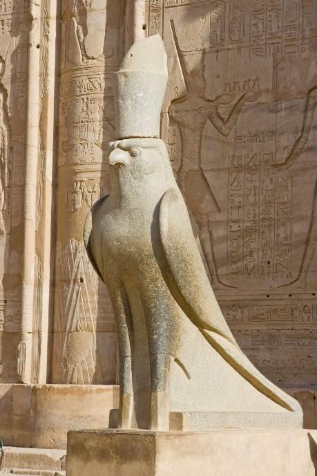 Statua boga Horusa
