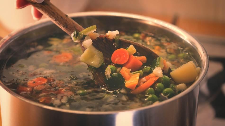 Minestrone supa