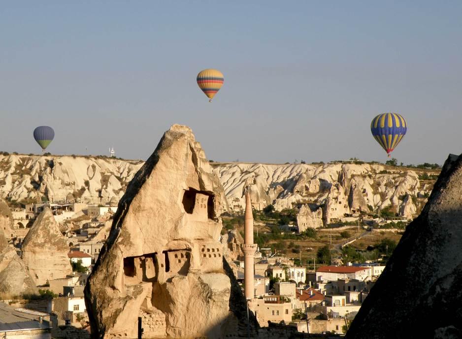 Baloni iznad Kapadokije