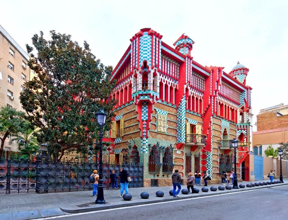 Casa Vicens, prvo Gaudijevo remek-delo.