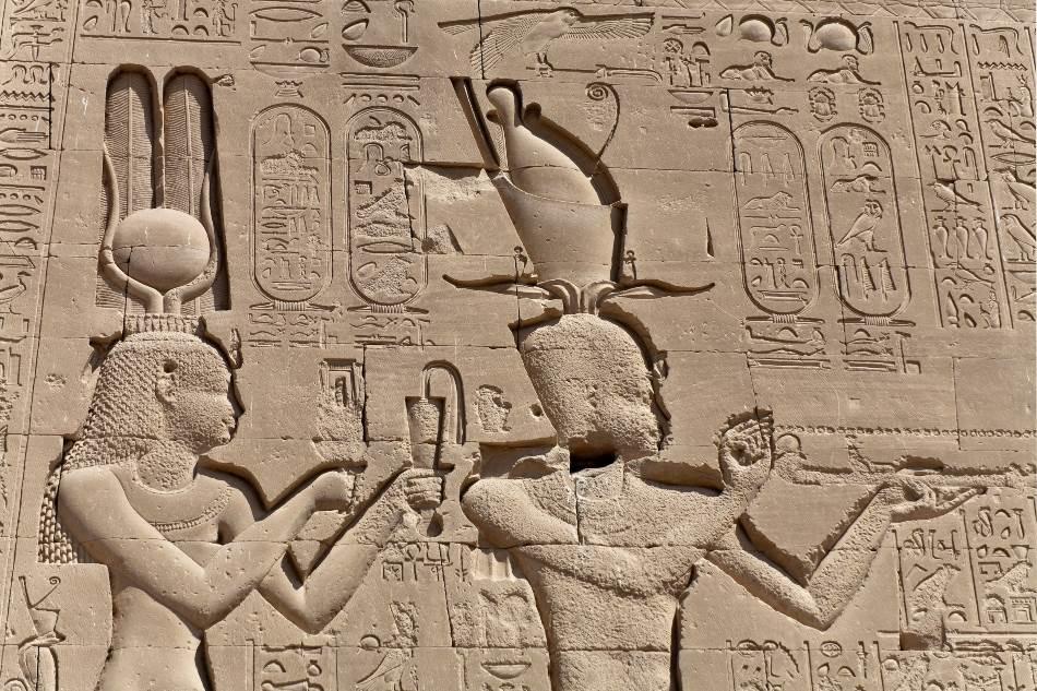 Kleopatra VII i Cezarion, hram u Denderi
