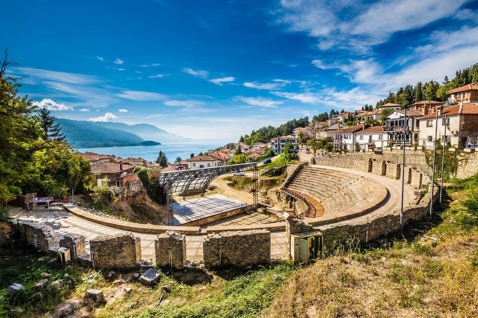 Antički teatar, Ohrid