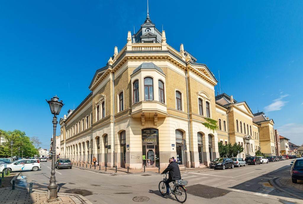 Zgrada Matice Srpske u Novom Sadu.