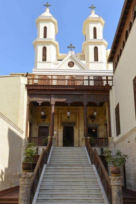 Crkva Presvete Bogorodice, Kairo.