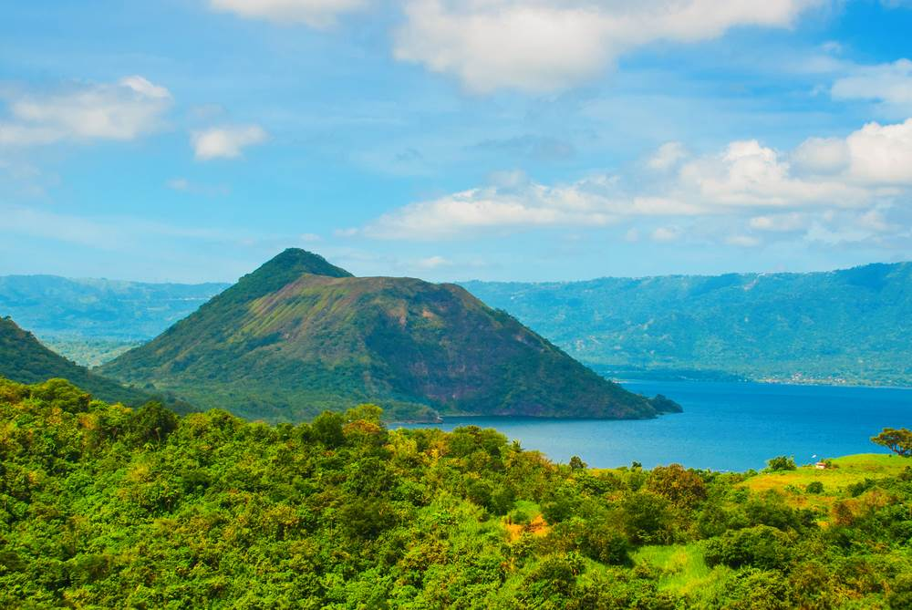 Vulkan Taal, Filipini.