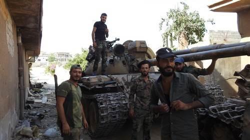 Borci Fronta al Nusra; snimljeno u avgustu 2019. godine.