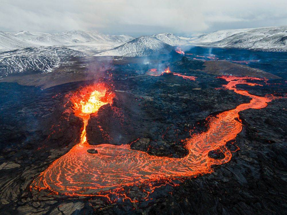 Fagradalsfjal, Island