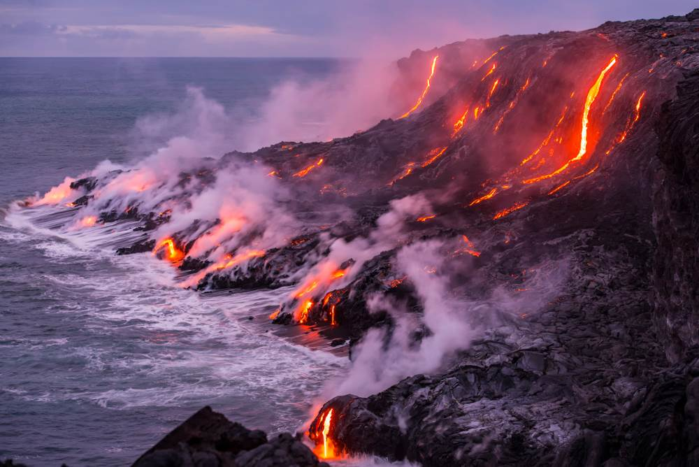 Kilauea, Havaji