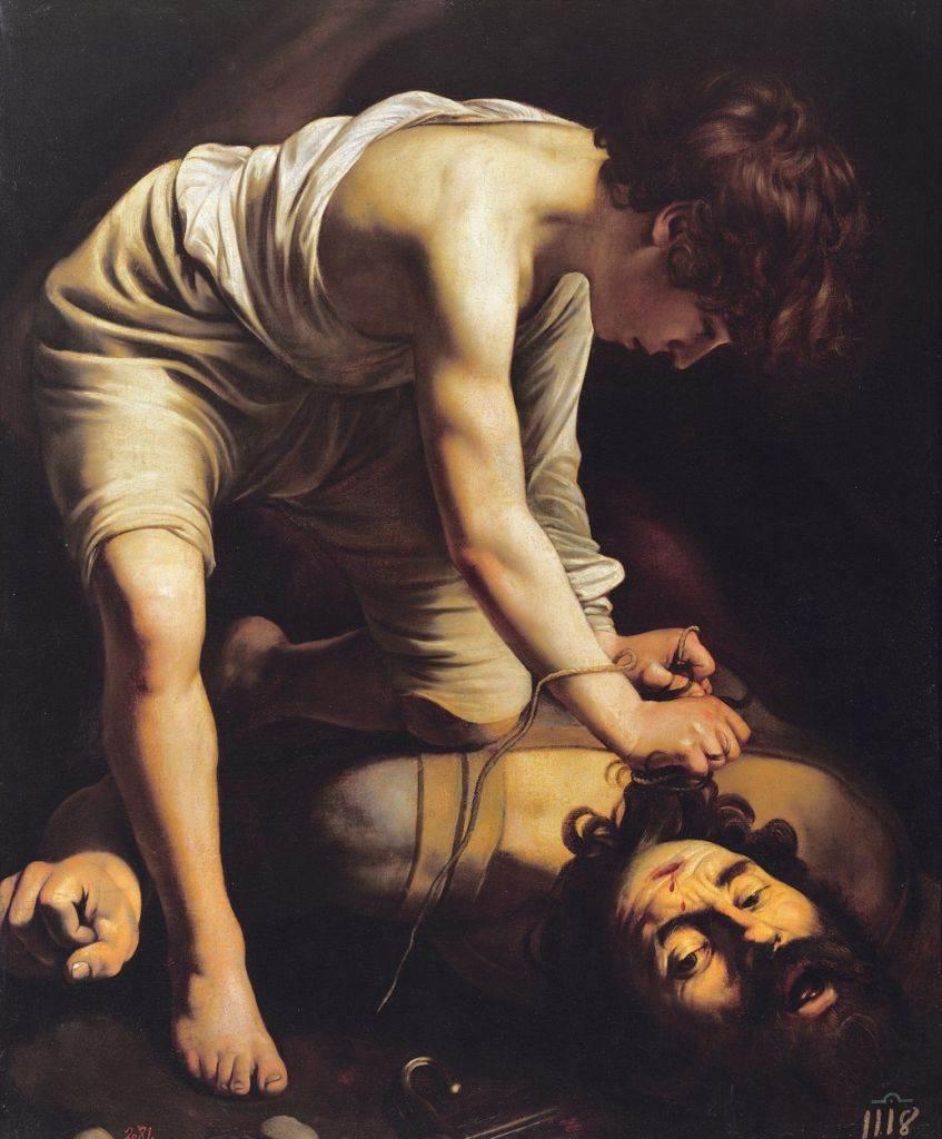 David i Golijat, Karavađo