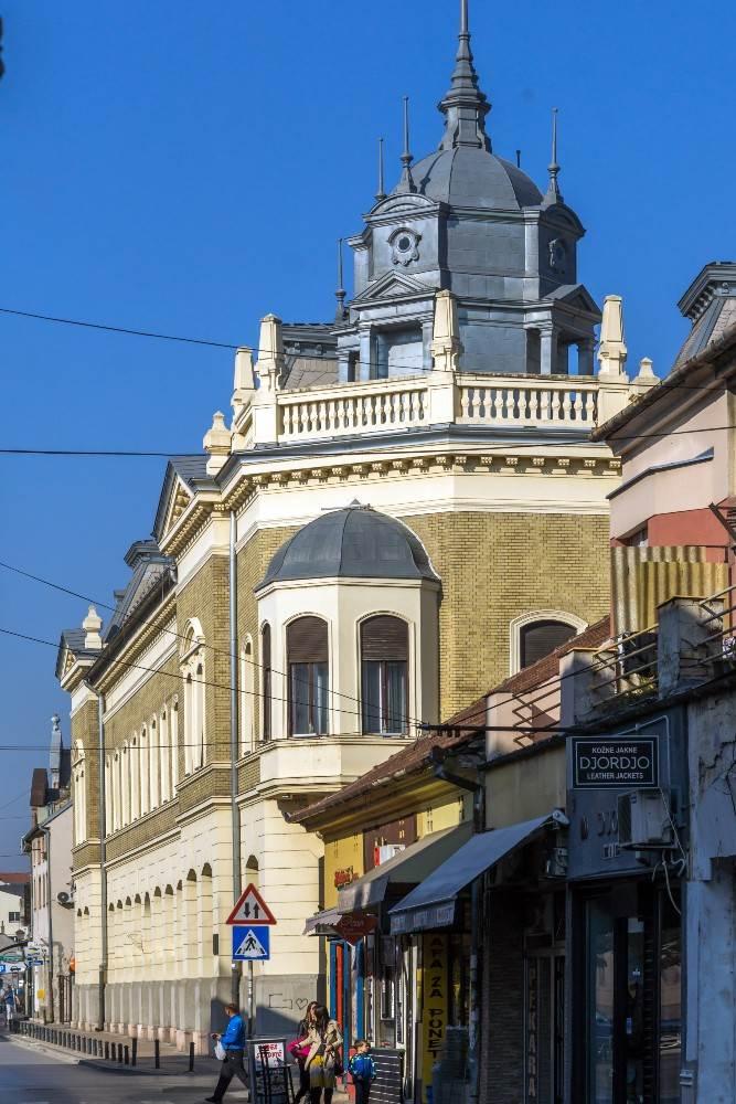 Zgrada Matice srpske iz pravca Ulice NIkole Pašića