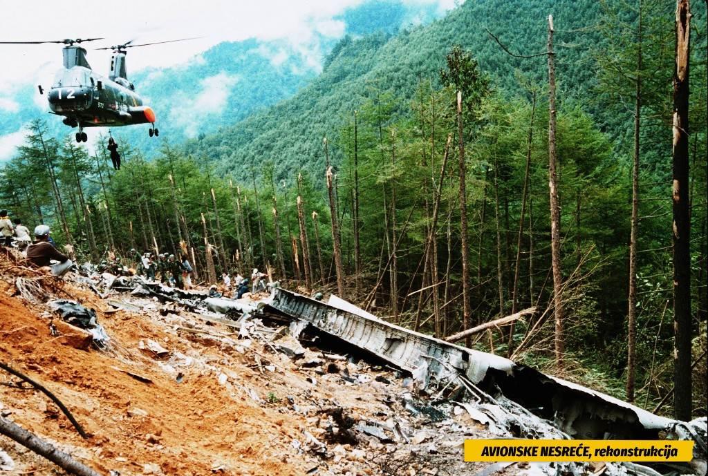 Avionske nesreće, rekonstrukcija
