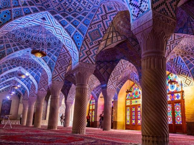 Džamija Nasir al-Mulk, Širaz